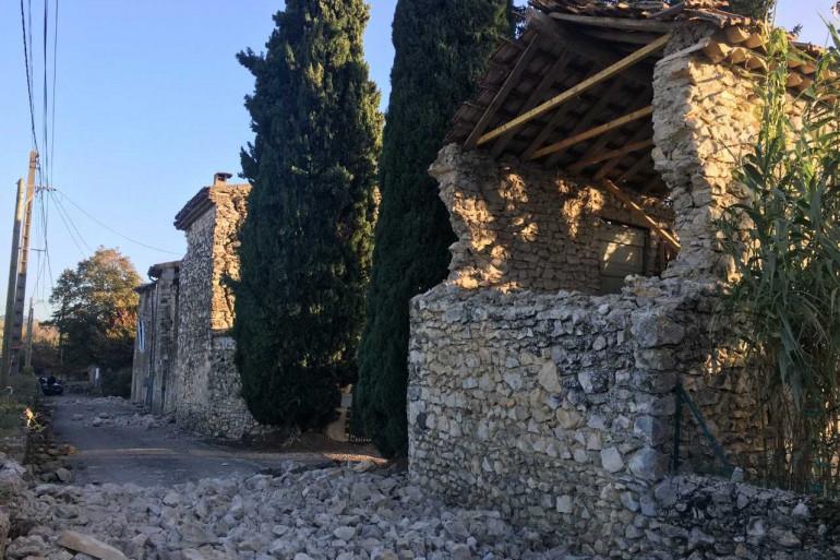 Quartier de La Rouvière au Teil (Ardèche)