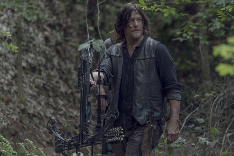 Daryl n'a pas de flèches de Cupidon à son arbalète