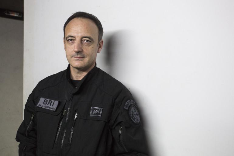 Le patron de la Brigade de recherche et d'intervention (BRI) Christophe Molmy (ici en 2016)