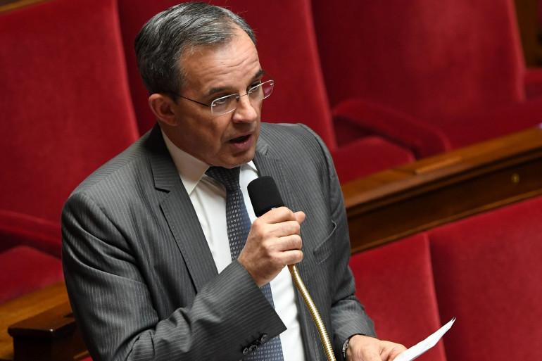 Thierry Mariani, ex-ministre LR de Nicolas Sarkozy, le 14 février 2017 à l'Assemblée nationale