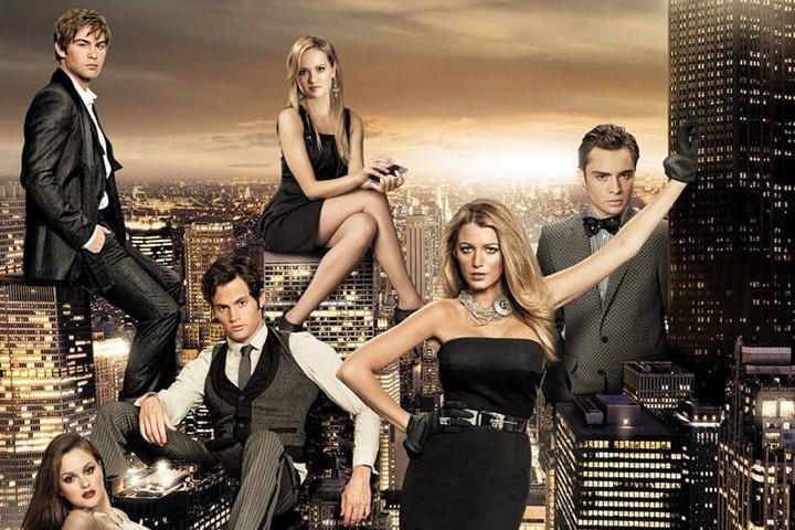 """L'affiche de la série """"Gossip Girl"""", réalisée en 2007"""