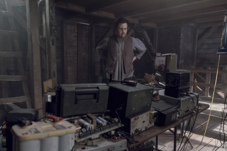 """Eugene dans la saison 10 de """"The Walking Dead"""""""