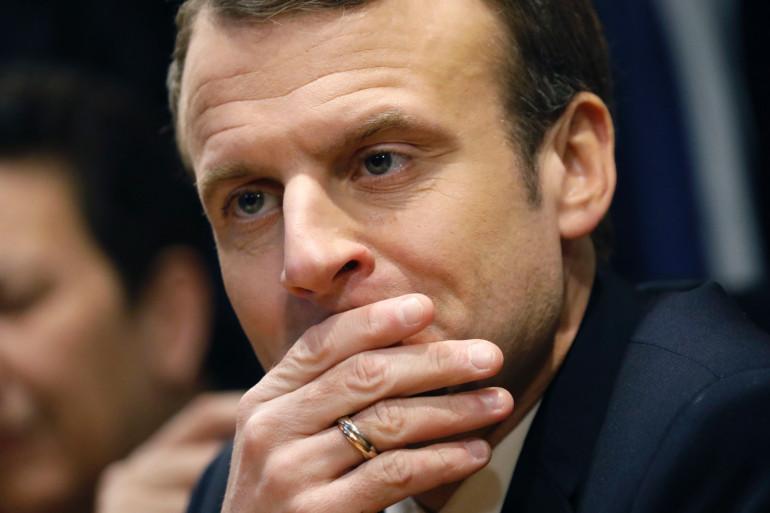 Emmanuel Macron, le 9 janvier 2018
