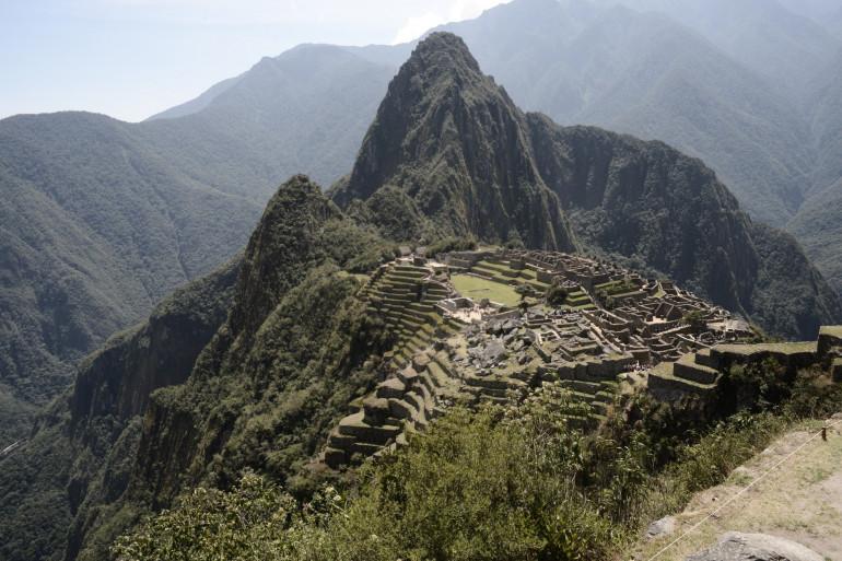 Le Machu Picchu, site archéologique inca datant du 15e siècle au Pérou