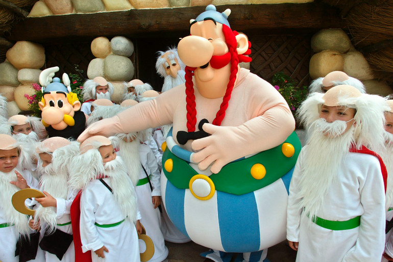 Le Parc Astérix accueille à 93% des visiteurs français, d'après son directeur général.