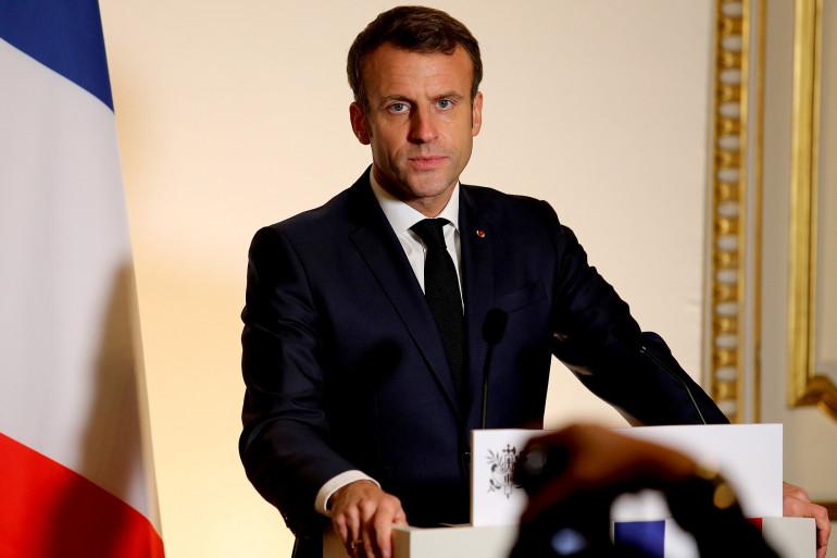 Emmanuel Macron, le 14 novembre 2019