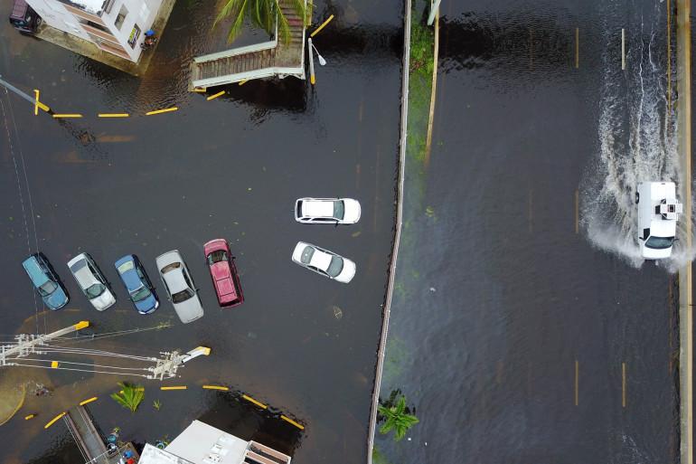 Après le passage de l'ouragan Maria à Porto Rico, en septembre 2017