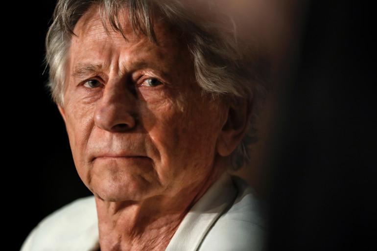 Roman Polanski lors d'une conférence de presse au Festival de Cannes.