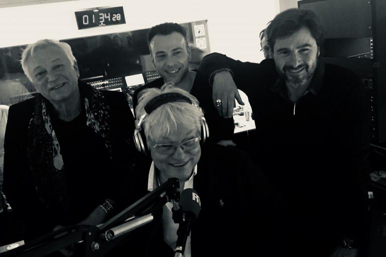 Laurent Boyer, Anthony Martin et Eric JeanJean autour de Georges Lang pour la dernière des Nocturnes Rue Bayard
