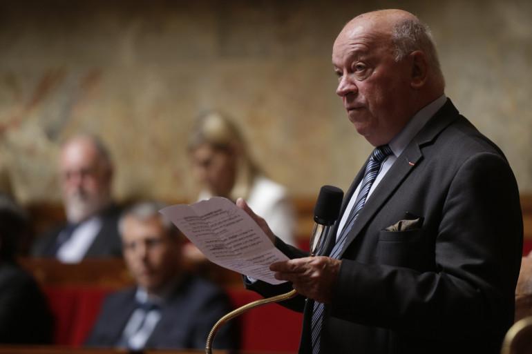 Le député Jean-Pierre Door à l'Assemblée nationale, le 7 juin 2016