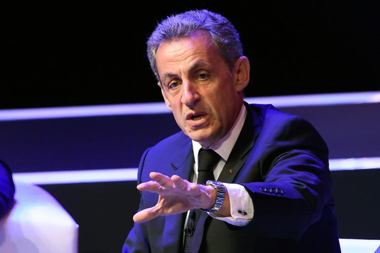 Nicolas Sarkozy, le 1er septembre 2017 à Mexico