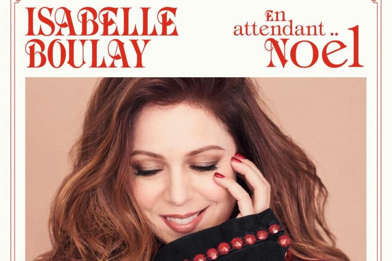 """Pochette du nouvel album """"En attendant Noël"""" de Isabelle Boulay"""
