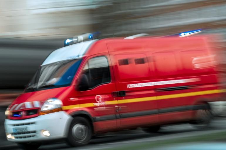 Un camion de pompiers (illustration).