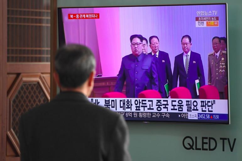 Kim Jong-Un s'est rendu en Chine le 28 mars 2018