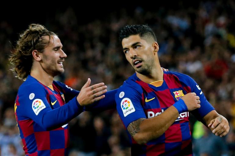 Antoine Griezmann et Luis Suarez, le 14 septembre 2019