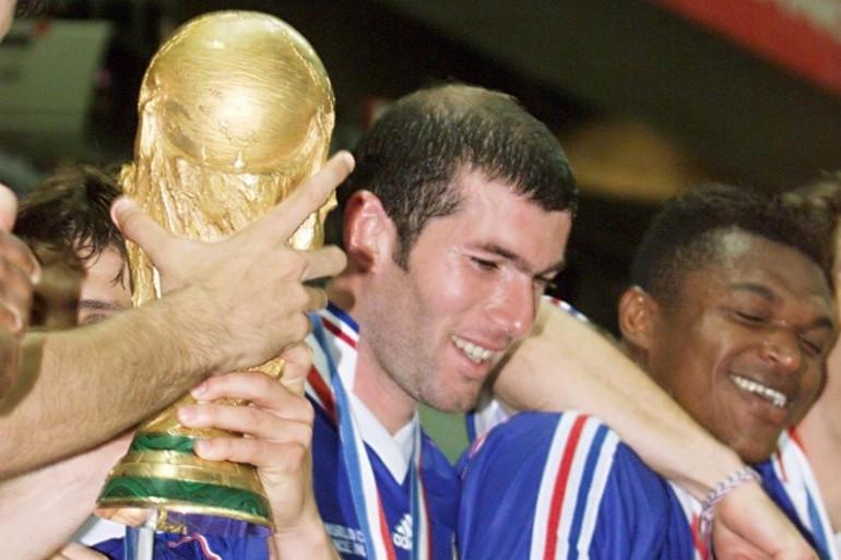 Zinedine Zidane et la coupe du Monde 1998