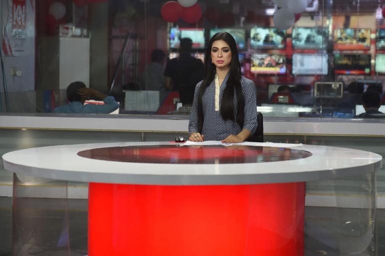 Marvia Malik est la première femme transgenre à devenir présentatrice au Pakistan