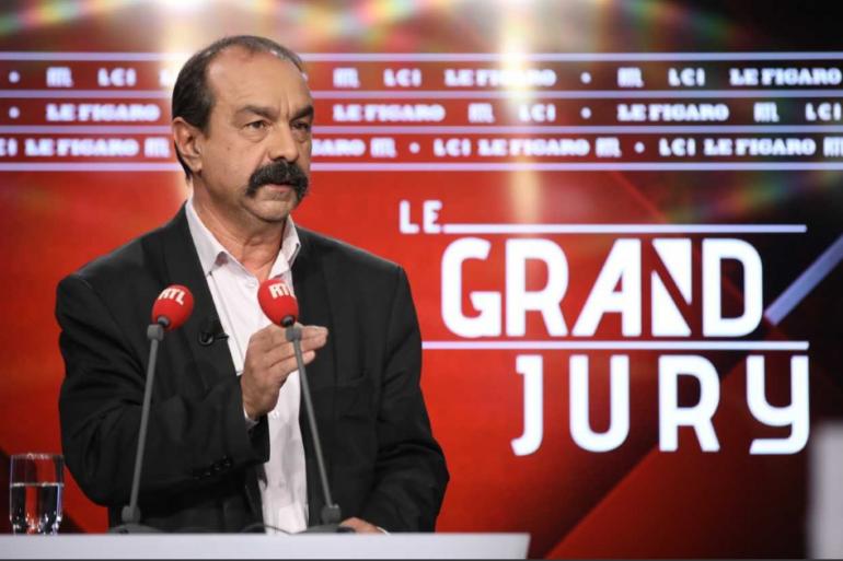 Philippe Martinez était l'invité du Grand Jury du dimanche 24 novembre.