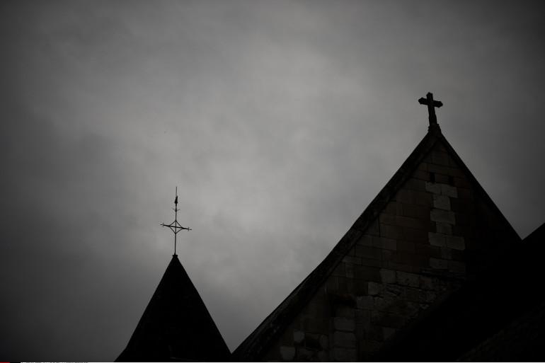 Une église (illustration)