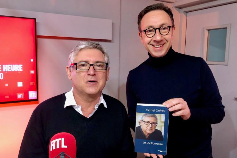 Michel Onfray et Stéphane Bern