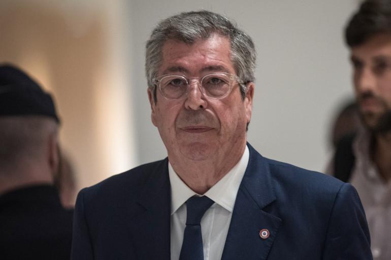 Patrick Balkany au tribunal de Paris