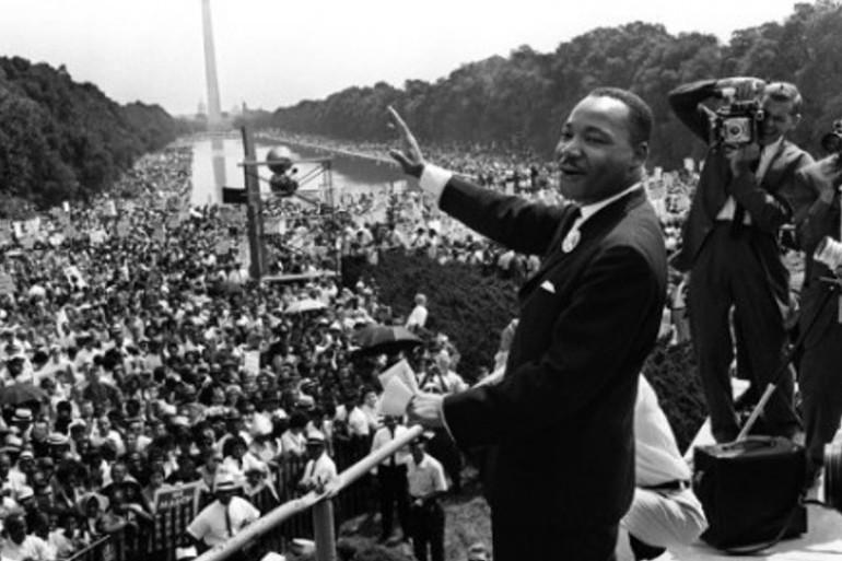 Martin Luther King lors de son célèbre discours, le 28 août 1963