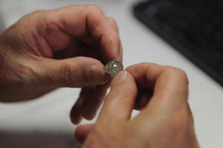 Un diamant (illustration)