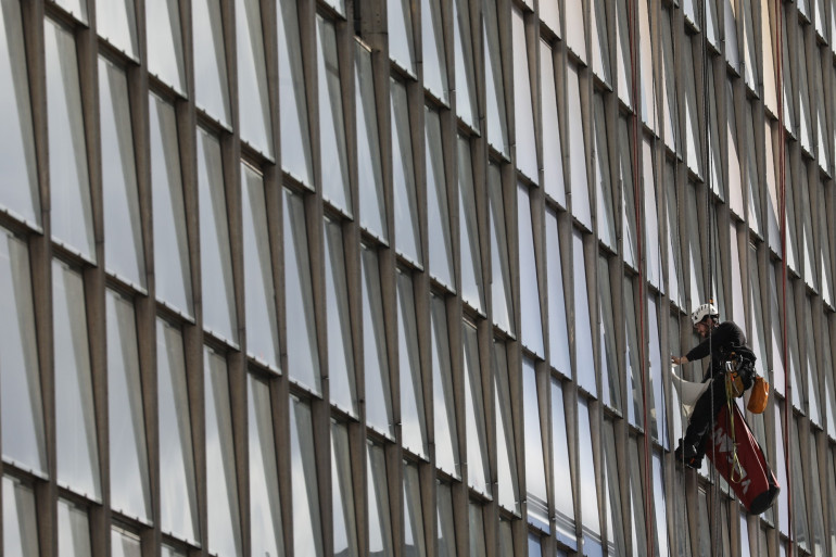 L'immeuble de Window, à La Défense, est en rénovation (illustration)