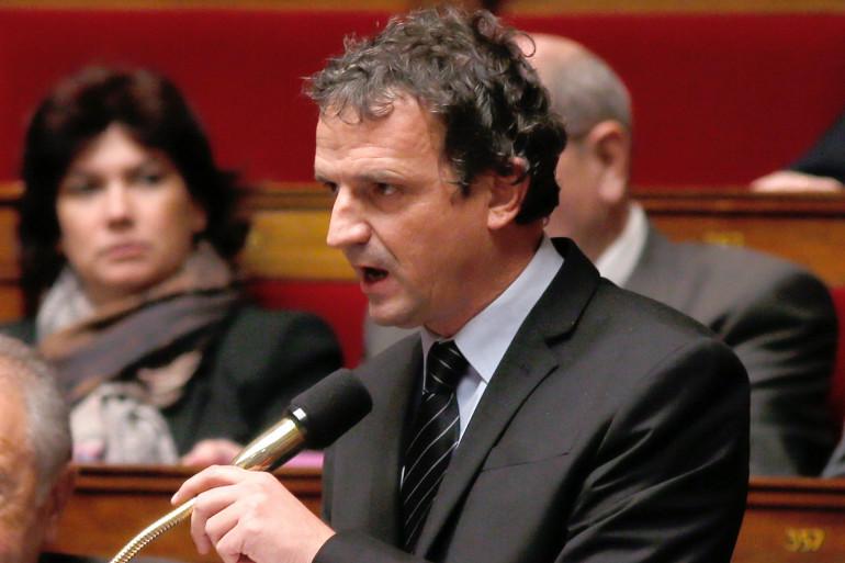 François-Michel Lambert à l'Assemblée nationale, en 2013