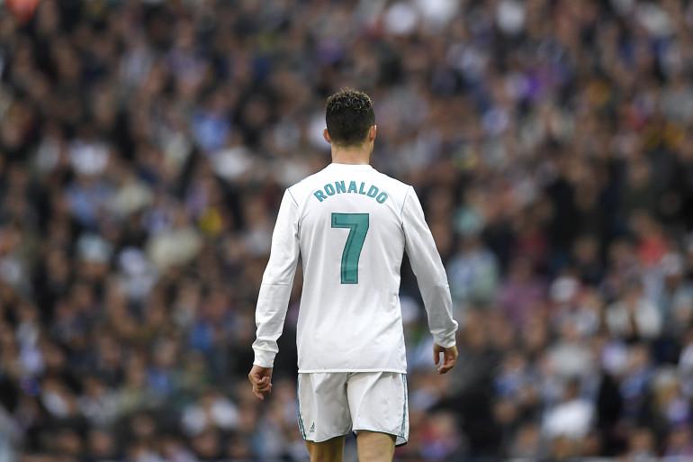 Cristiano Ronaldo avec le Real Madrid le 8 avril 2018