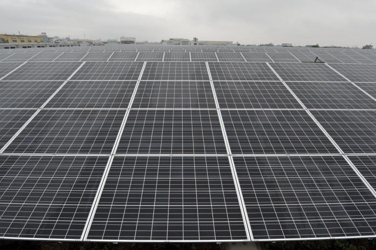 Des panneaux solaires (Illustration)
