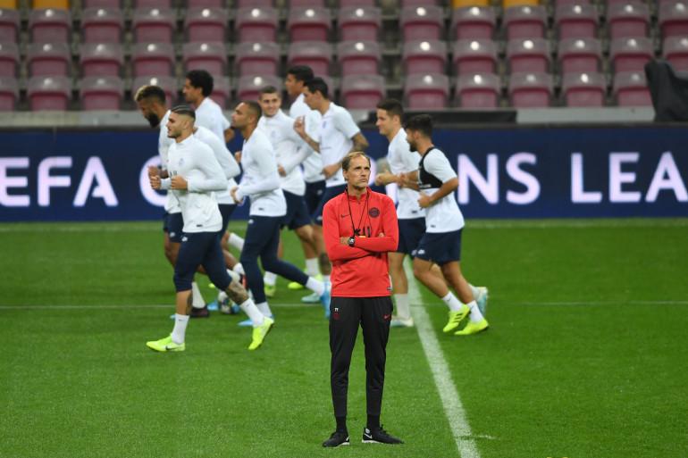 L'entraîneur du Paris-Saint-Germain Thomas Tuchel