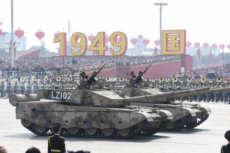 Une parade militaire à Pékin, pour les 70 ans de la république populaire de Chine, le 1er octobre 2019