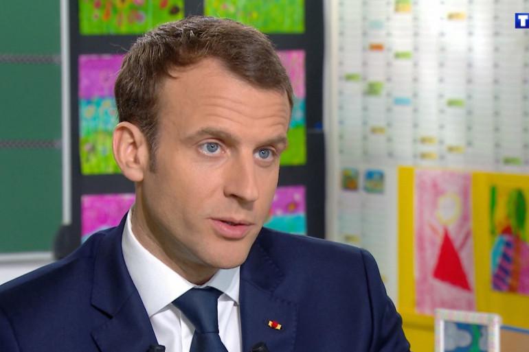Macron JT TF1 2