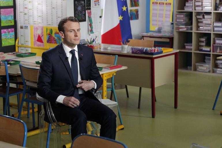 Emmanuel Macron interviewé par Jean-Pierre Pernaut jeudi 12 avril 2018