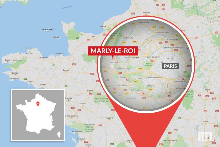 La ville de Marly-le-Roi, dans les Yvelines.