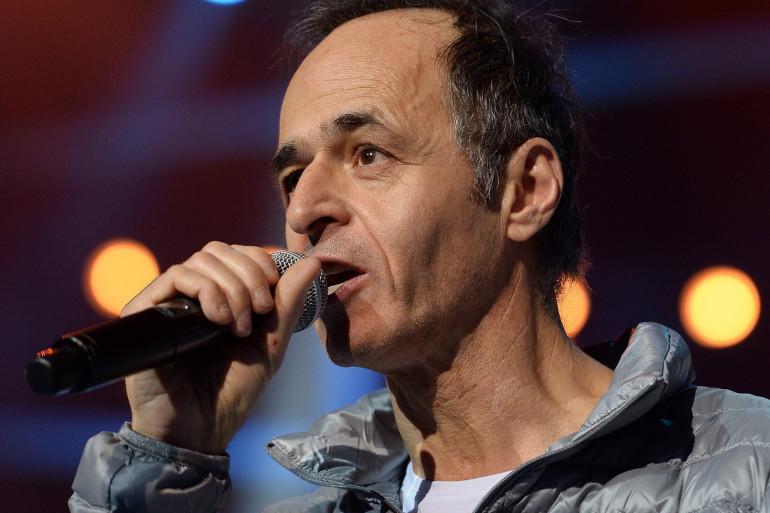 Jean Jacques Goldman au concert des Enfoirés le 15 janvier 2014 à Strasbourg