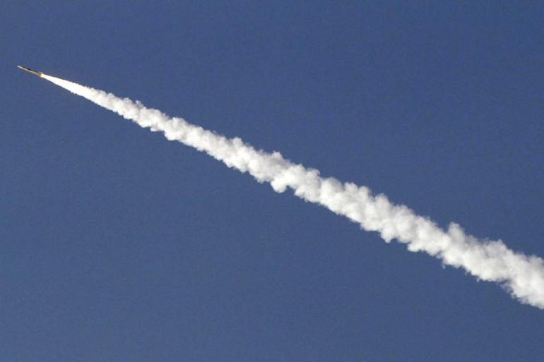 Un tir de missile balistique en Iran en 2012 (Image d'illustration)