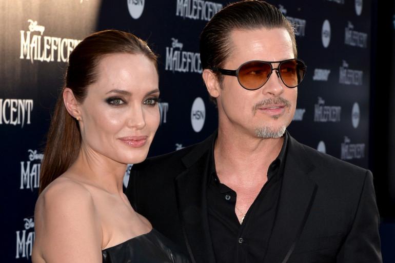Angelina Jolie et Brad Pitt en 2014