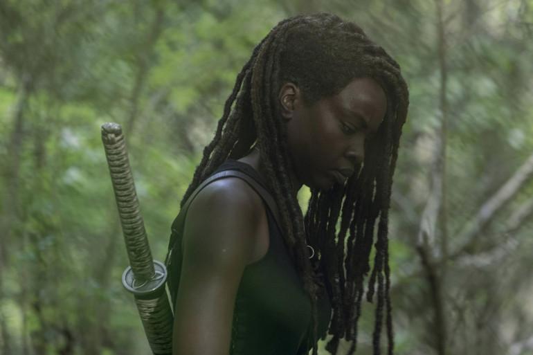 """Michonne signe sa dernière saison dans """"The Walking Dead"""""""
