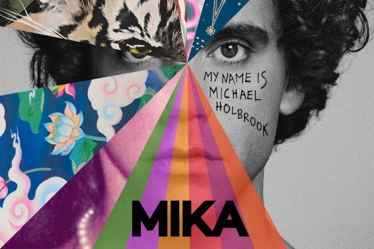 """""""My Name Is Michael Holbrook"""", le nouvel album de Mika, disponible le 4 octobre 2019"""