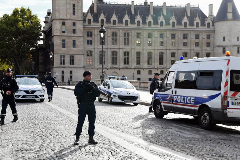 La préfecture de police de Paris, le jour de l'attaque qui a fait 4 morts, le 3 octobre 2019
