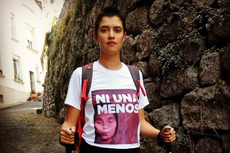 À 24 ans, Marie Albert marche 700 kilomètres contre les féminicides.
