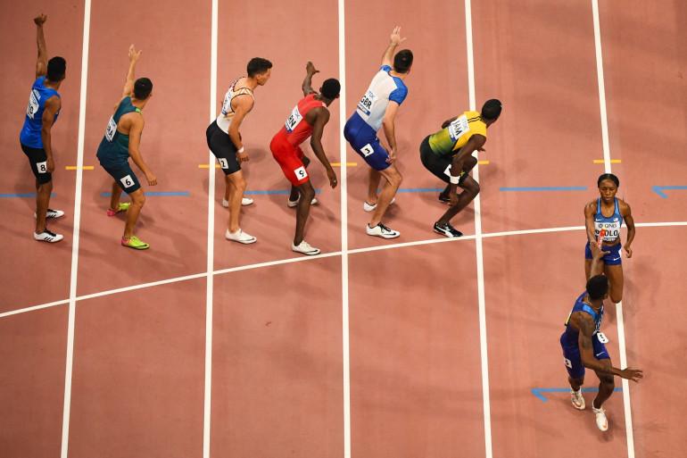Les États-Unis ont remporté le relais mixte 4x400 m le 29 septembre 2019 à Doha