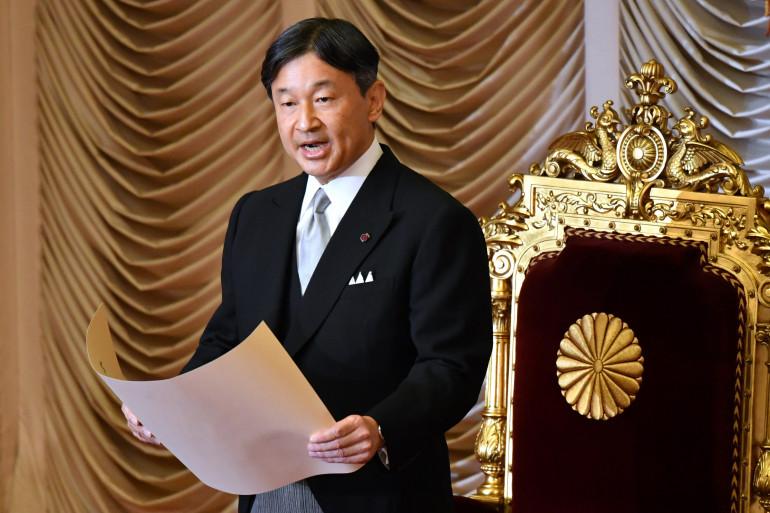 Le nouvel empereur du Japon Naruhito, le 4 octobre 2019