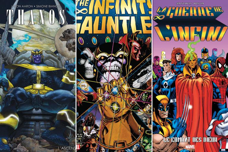 """Avant la sortie d'""""Avengers : Infinity War"""", découvrez l'univers du film dans les comics"""