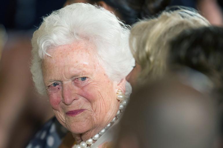 Barbara Bush en 2013
