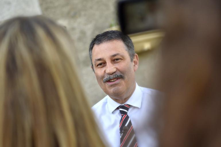 Jean-Paul Naud, maire de Notre-Dame-des-Landes (Loire-Atlantique).
