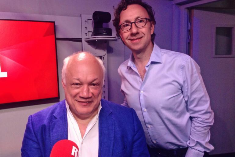 Eric-Emmanuel Schmitt et Stéphane Bern
