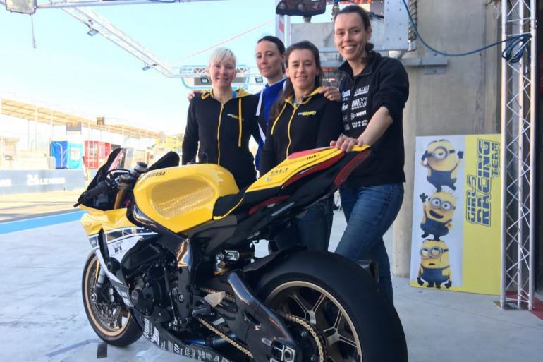 Le Girls Racing Team participe aux 24 Heures du Mans Moto